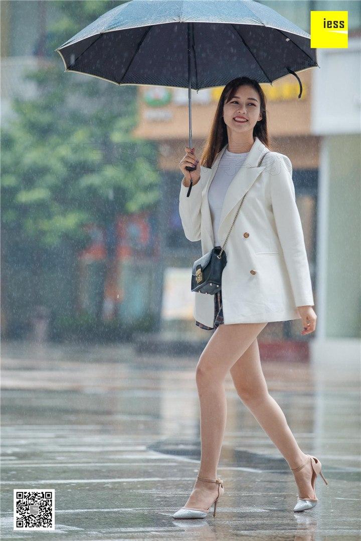[IESS异思趣向]2019.03.16 丝享家443:九妹雨中漫步[90P/30.8M]